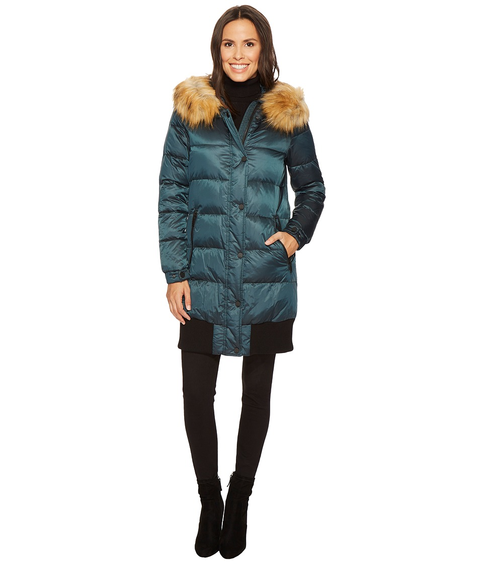7 For All Mankind - Down Coat (Deep Forest) Women's Coat