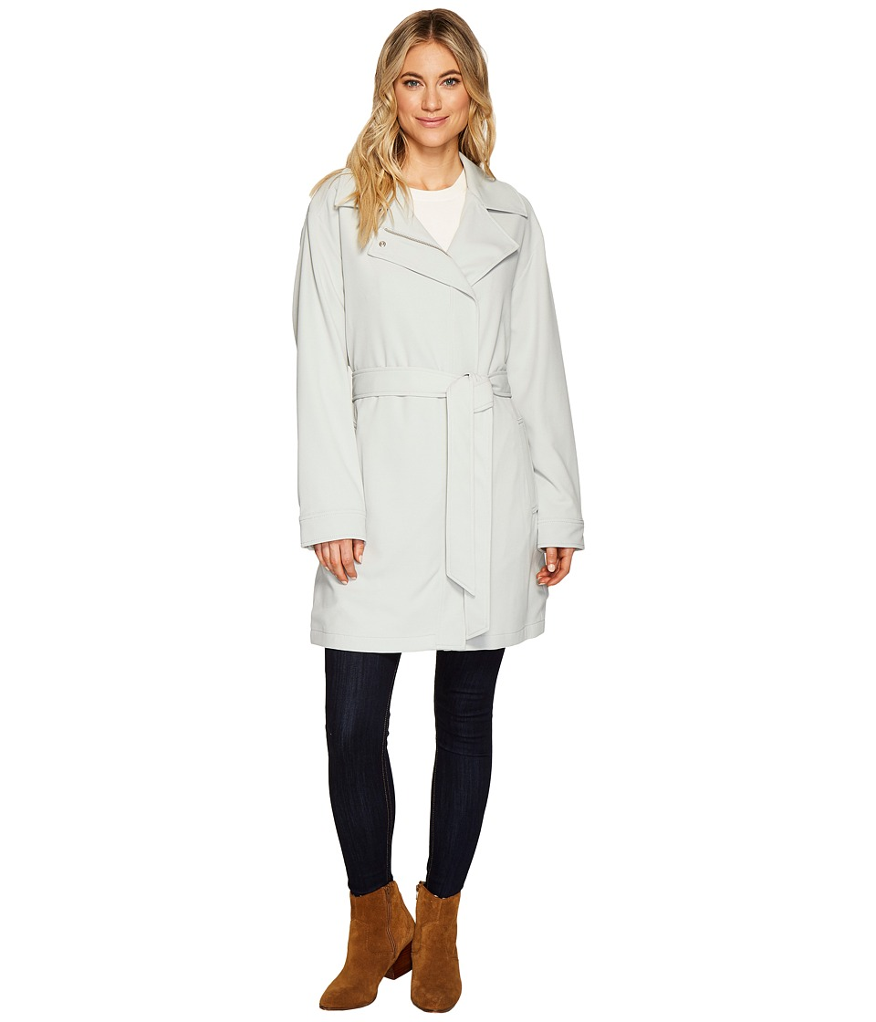 7 For All Mankind - Crepe Duster (Coastal Grey) Women's Coat