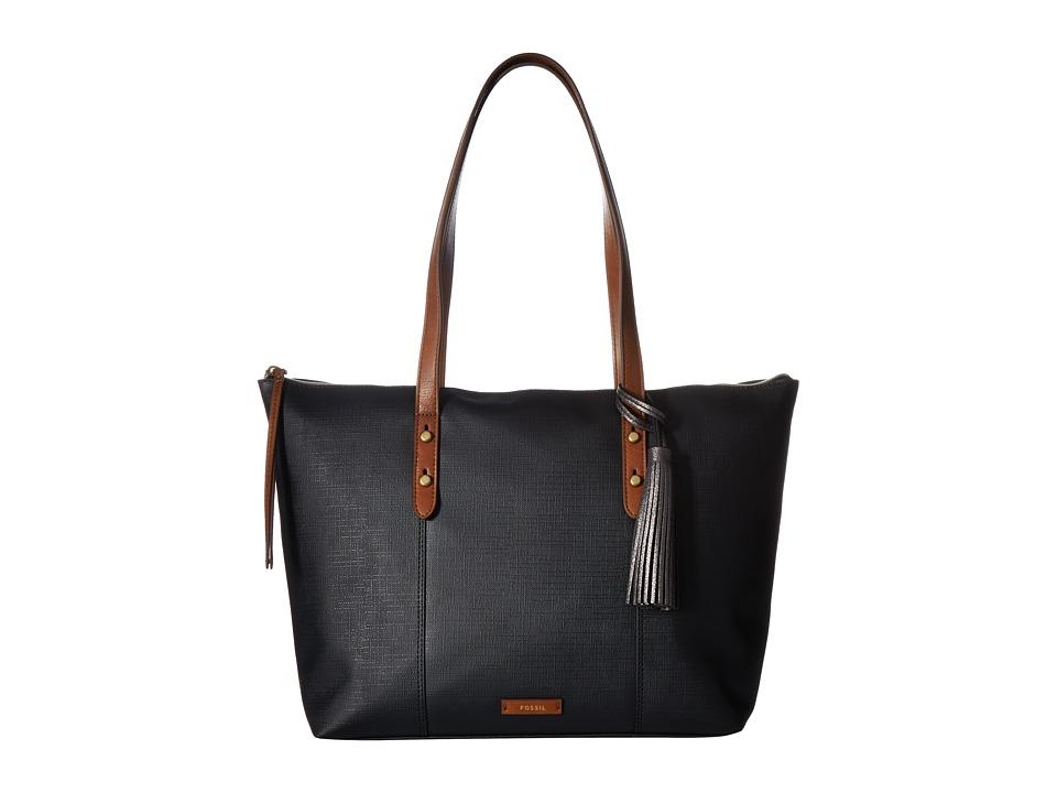 Fossil - Jayda Tote (Black) Tote Handbags