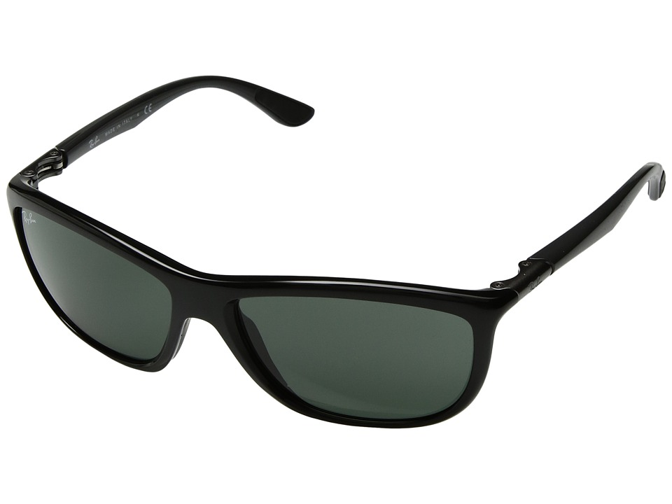 Ray-Ban - 0RB8351 (Black Grey) Fashion Sunglasses