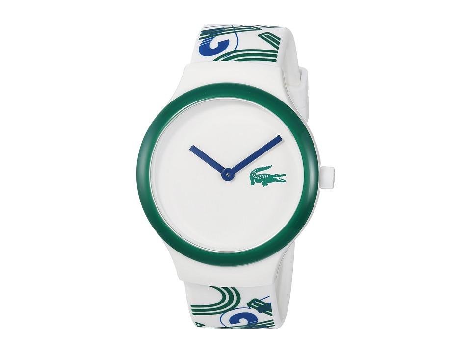 Lacoste - 2020126 - GOA (White/Green) Watches