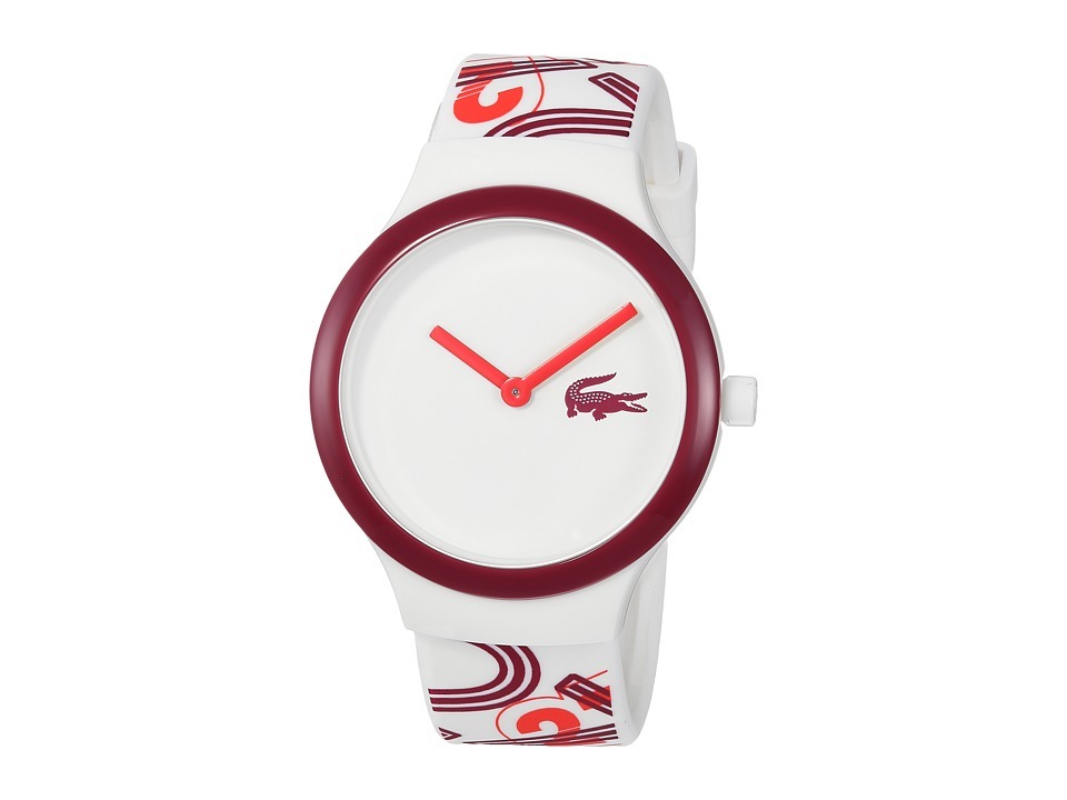 Lacoste - 2020127 - GOA (White/Red) Watches