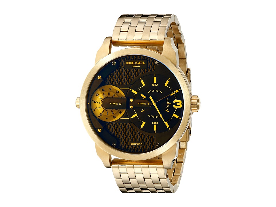 Diesel - DZ7341 (Gold/Marine) Watches
