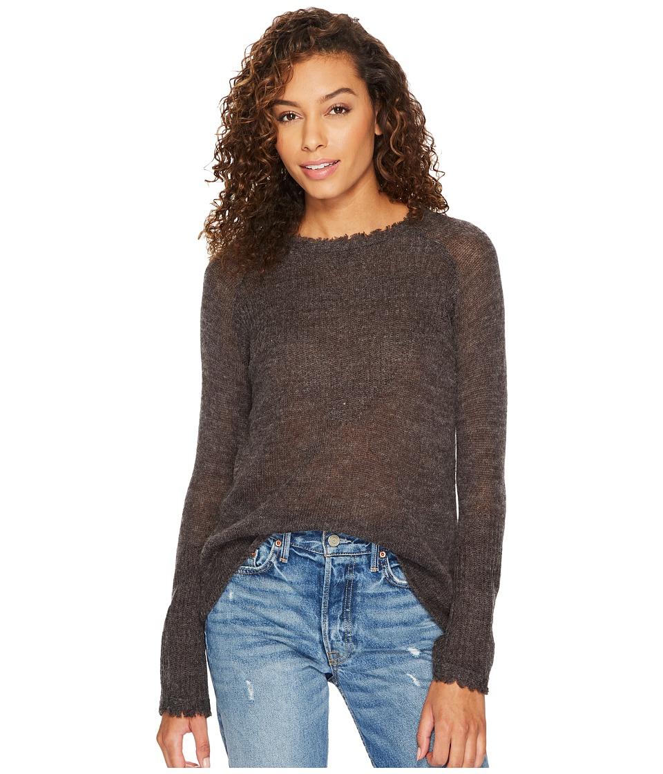 Lucky Brand - Rayne Sweatshirt (Charcoal) Women's Sweatshirt