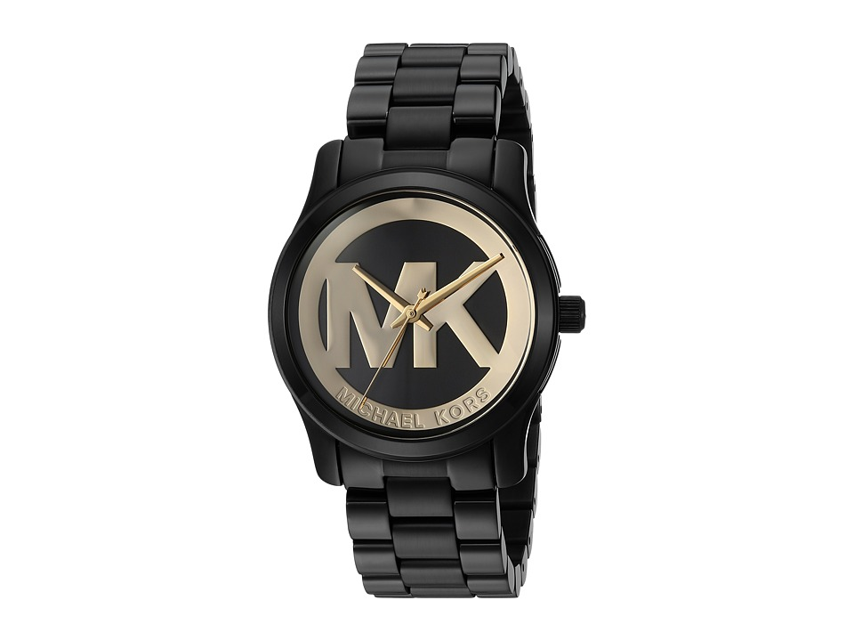 Michael Kors - MK6057 - Runway (Gold/Black) Watches