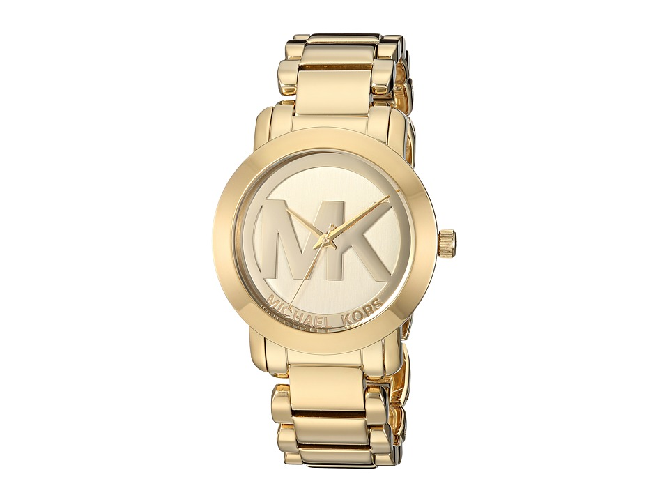 Michael Kors - MK3206 - MK Logo (Gold) Watches