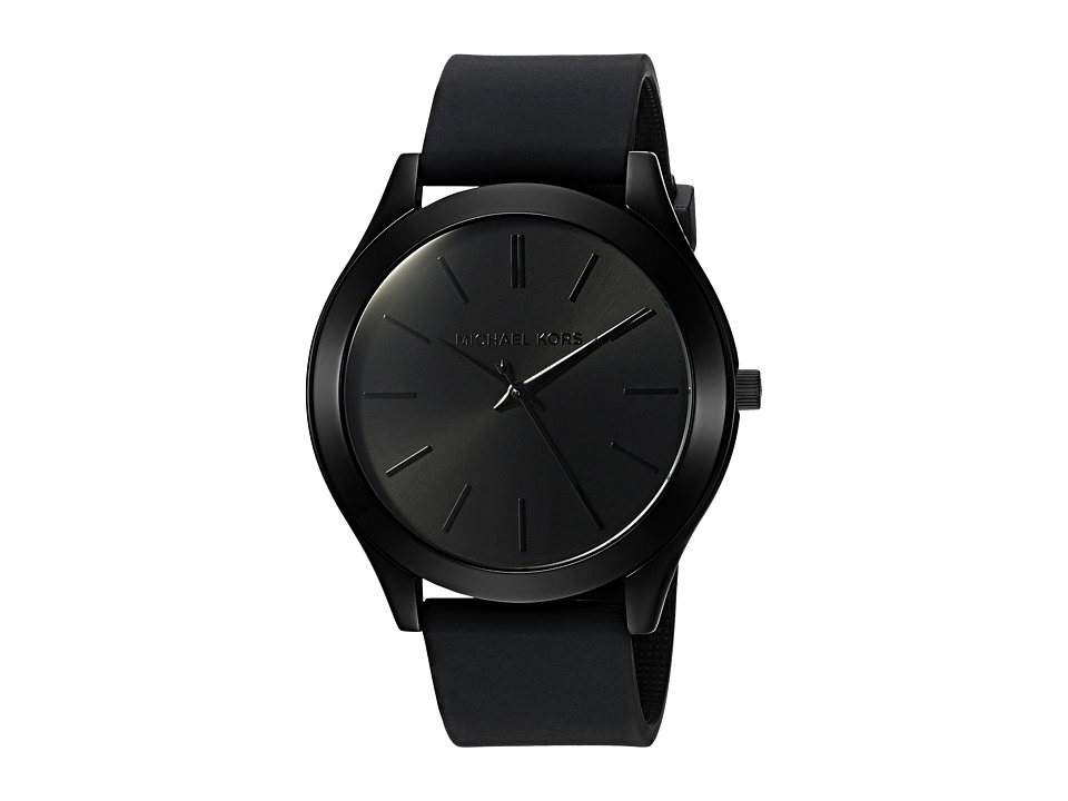 Michael Kors - MK2513 - Slim Runway (Black) Watches