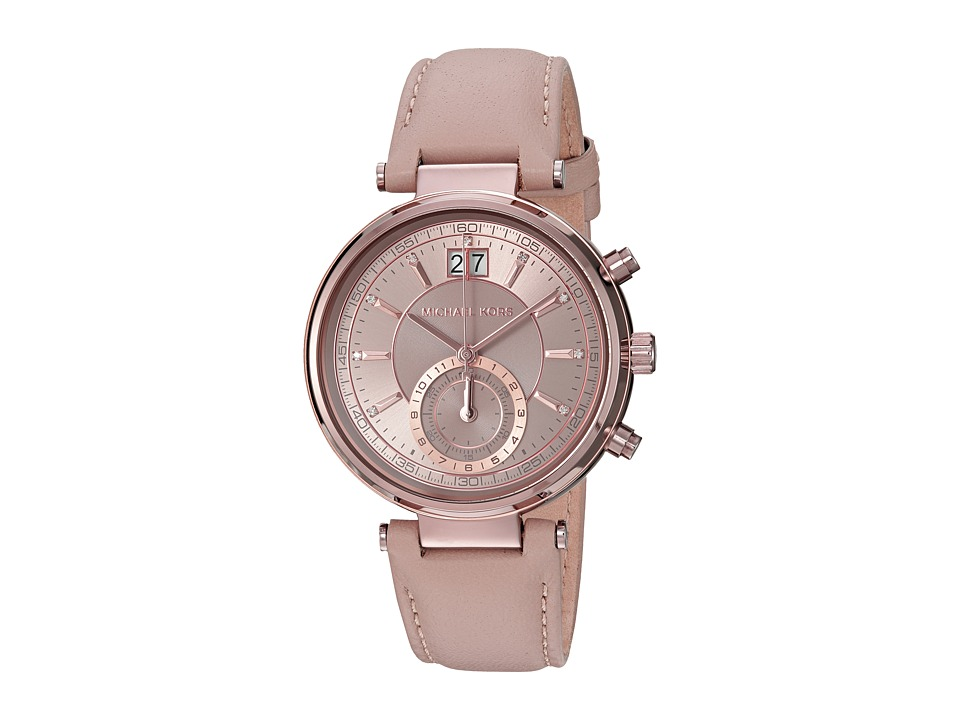 Michael Kors - MK2629 - Sawyer Chronograph (Taupe Grey) Watches
