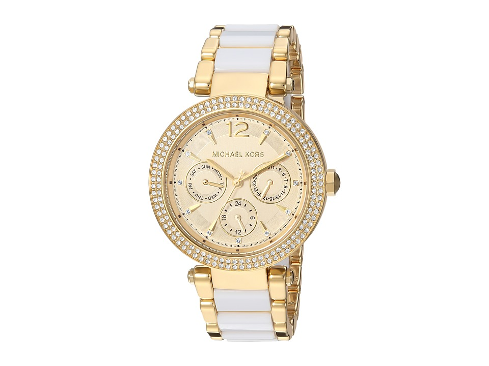 Michael Kors - MK6374 - Parker Chronograph (Gold) Watches