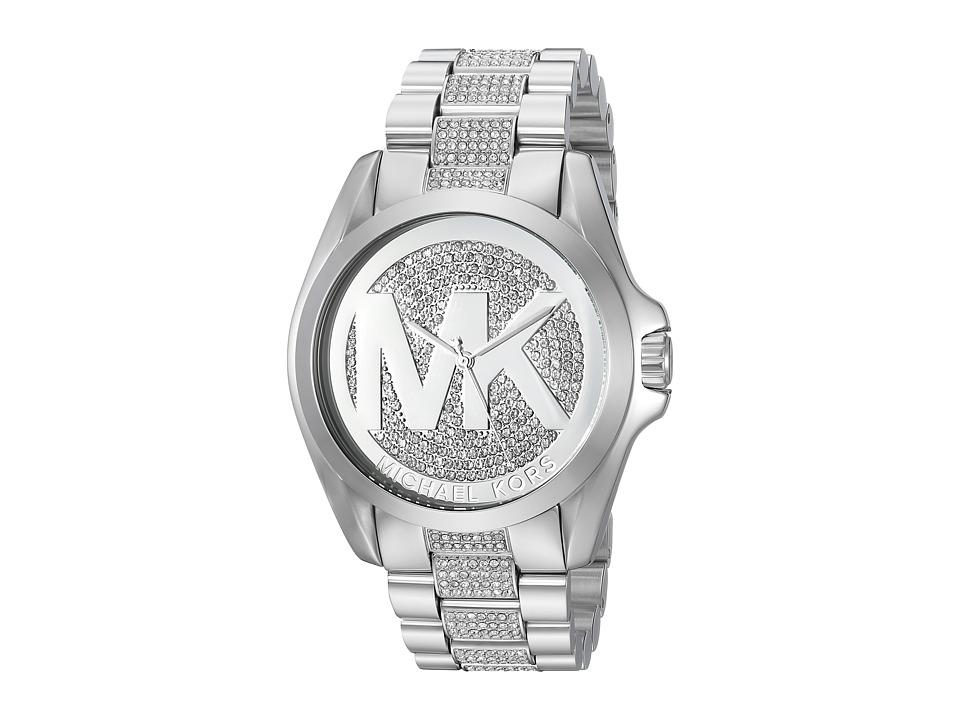 Michael Kors - MK6486 - Bradshaw Analog (Silver/Brown) Watches