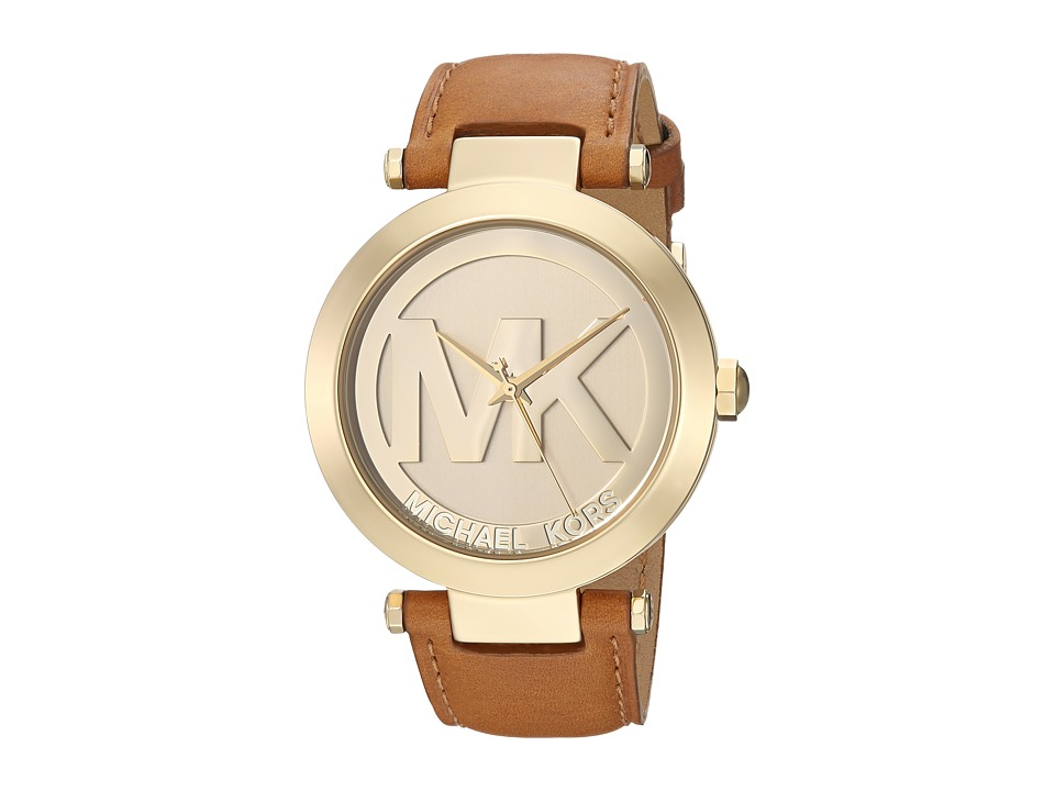 Michael Kors - MK2398 - MK Logo (Gold/Brown) Watches