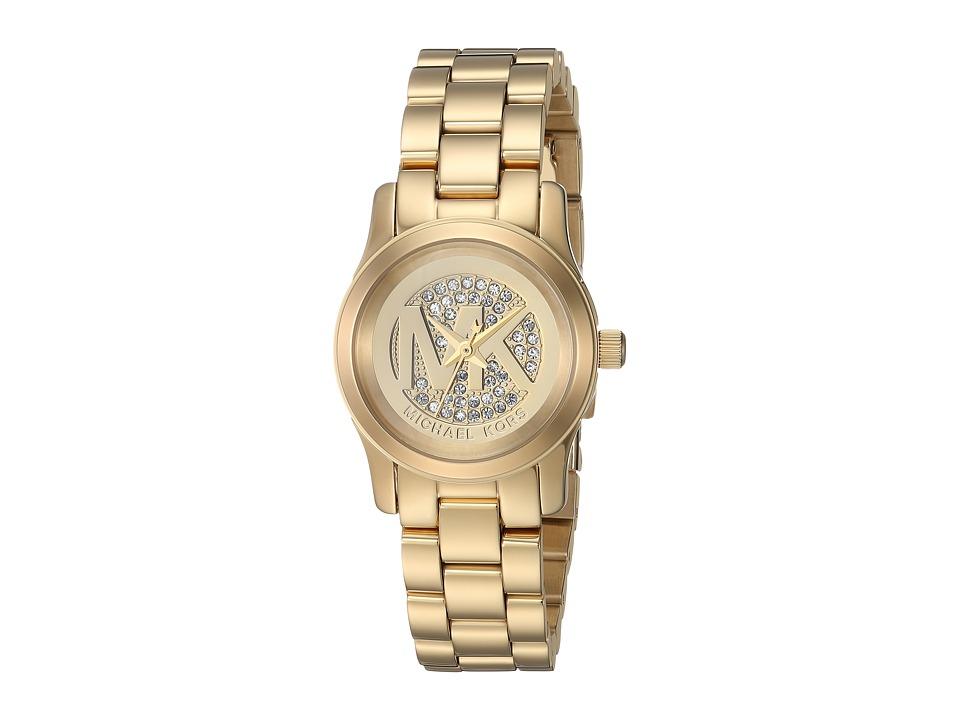 Michael Kors - MK3304 - Petite Runway (Champagne) Watches