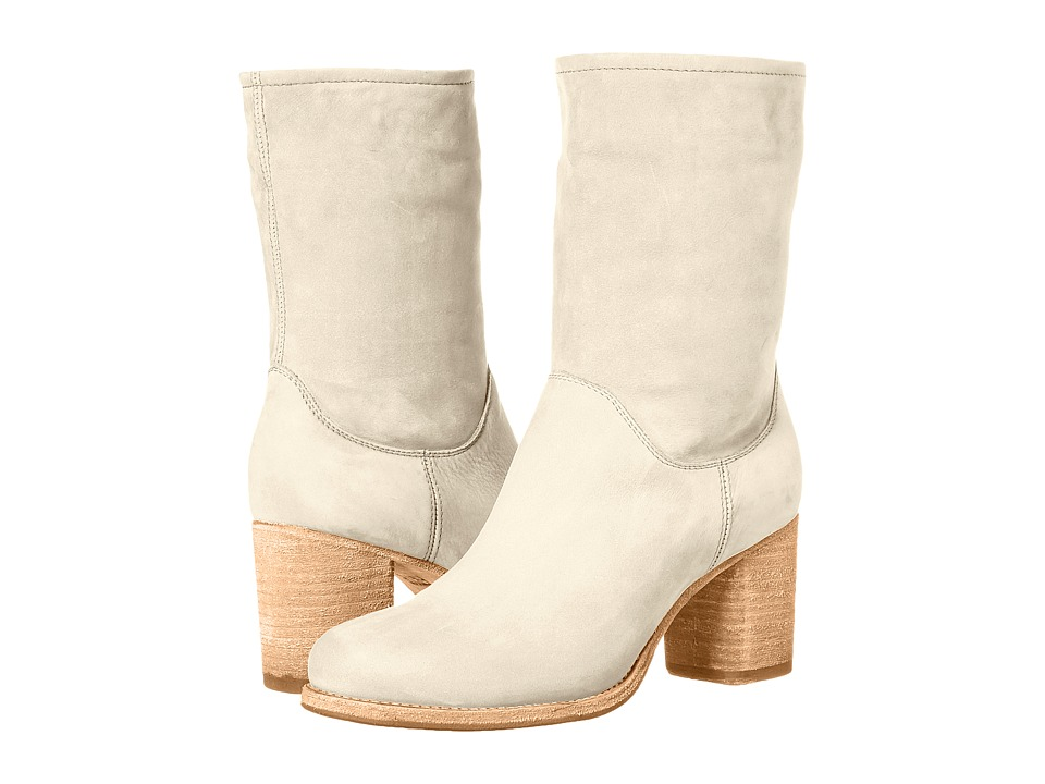 Frye Addie Mid (Ivory) Women