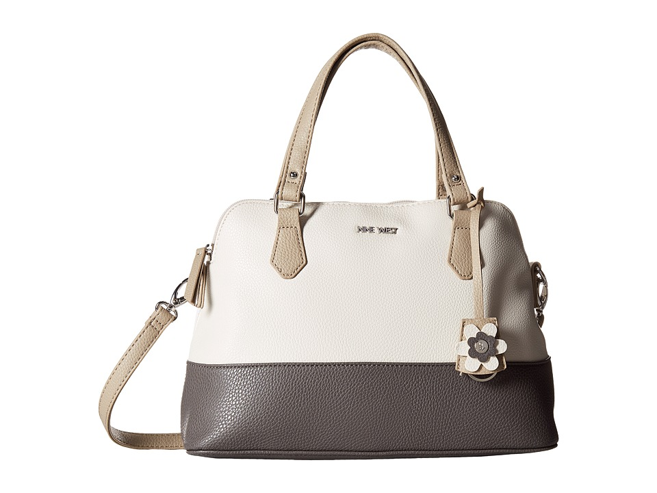 Nine West - Dealing Times (Chalk/Steele/Mushroom) Handbags