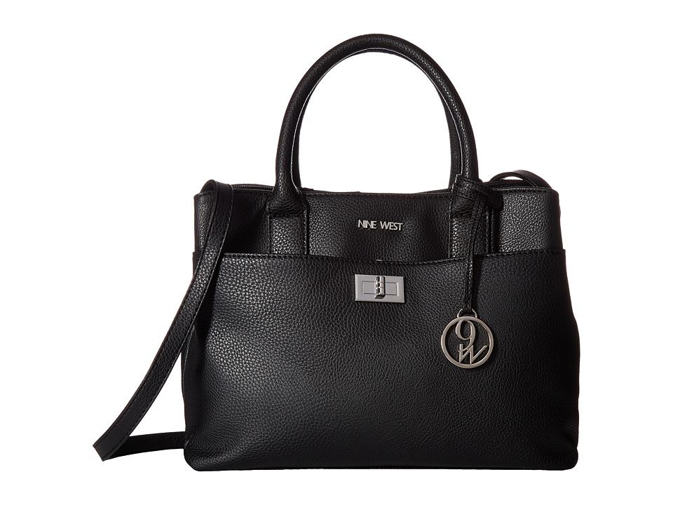 Nine West - Gemma (Black) Handbags