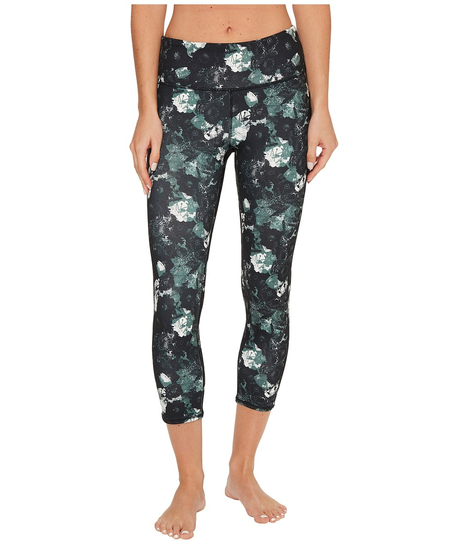 Threads 4 Thought Half Lotus Crop Leggings (Floral Camo) Women