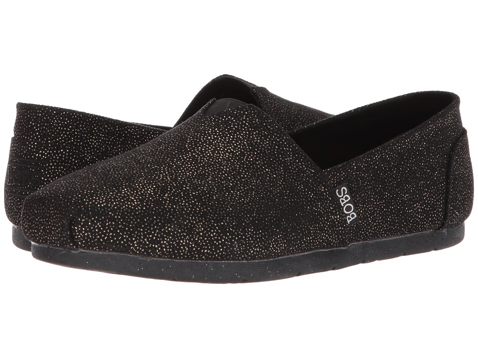 BOBS from SKECHERS Luxe Bobs Caviar And Candy (Black) Women