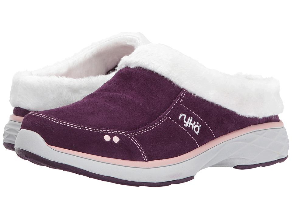 Ryka - Luxury (Italian Plum/Ballet Pink) Women's Slip on Shoes