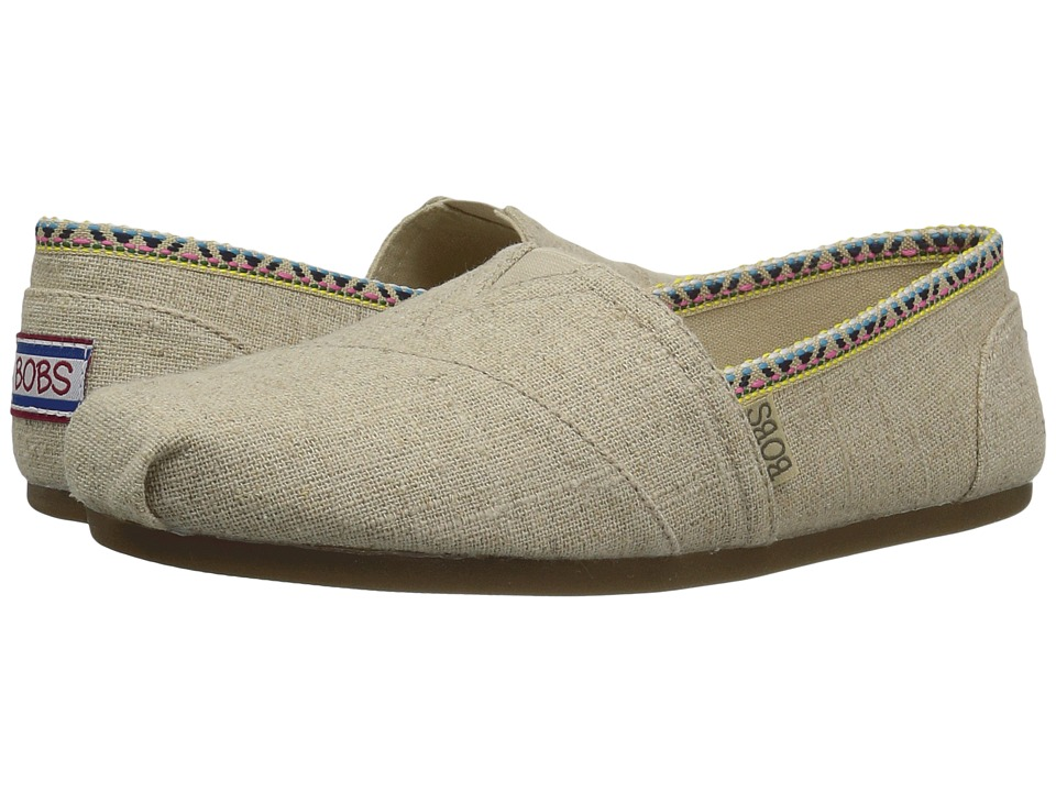 BOBS from SKECHERS Plush High Water (Natural) Women