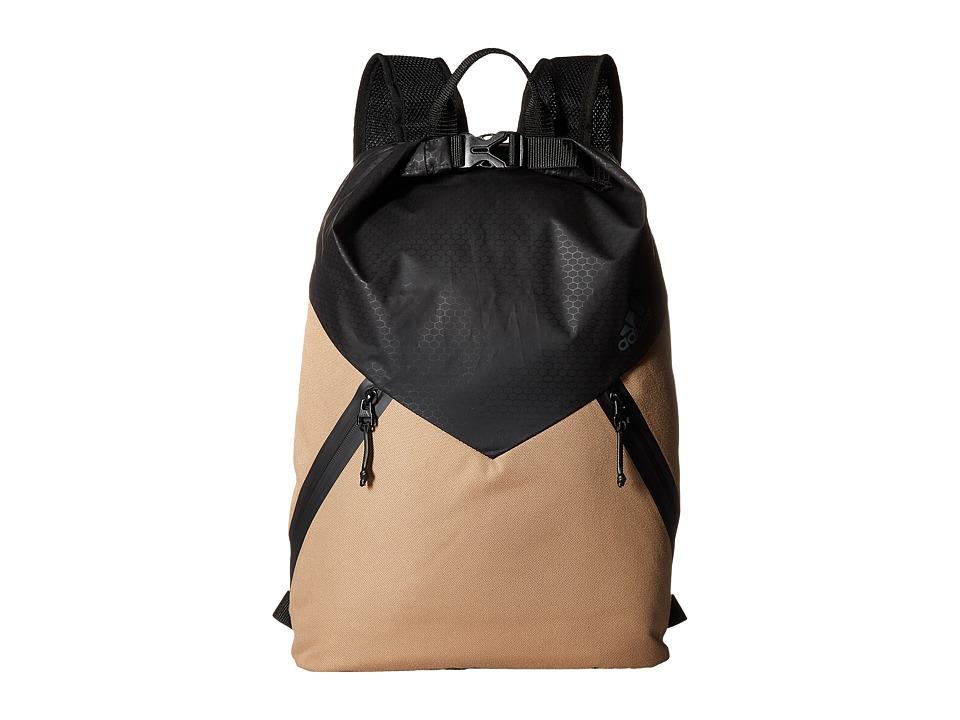 adidas - Sport ID Pack Sackpack (Cardboard/Black/Onix) Bags