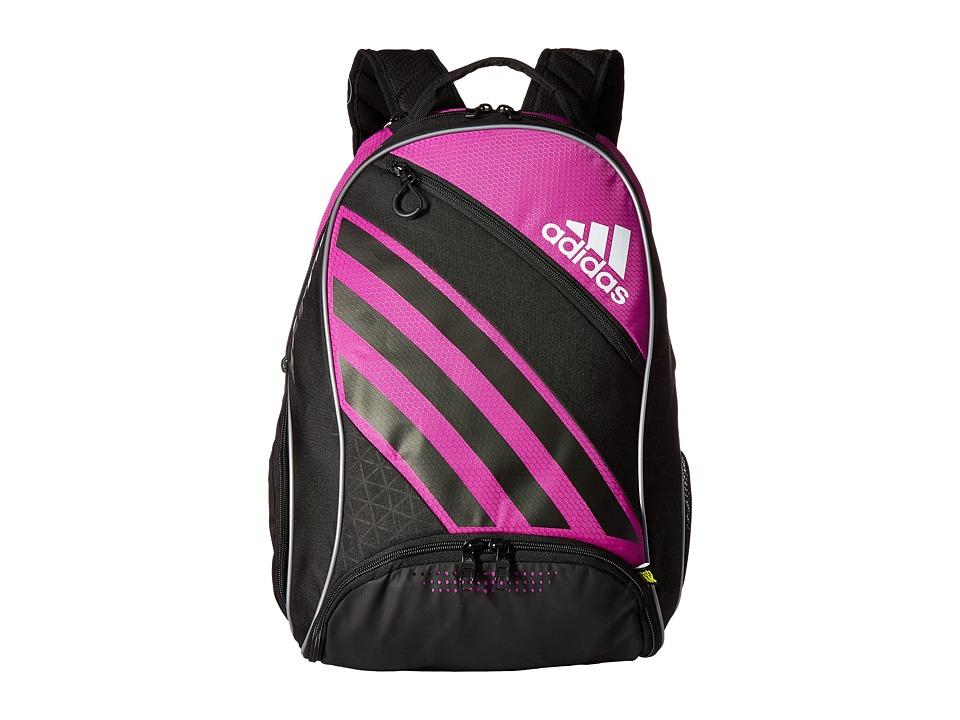 adidas - Barricade IV Backpack (Flash Pink/Black) Backpack Bags