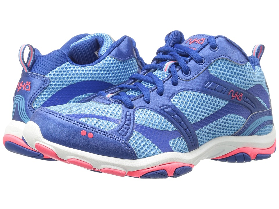 Ryka - Enhance 2 (Ethereal Blue/Royal Blue/Coral Rose) Women's Cross Training Shoes