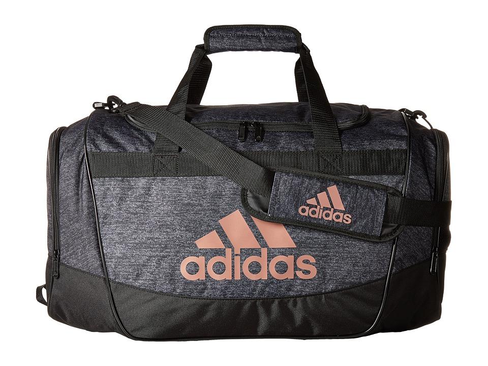adidas - Defender II Medium Duffel (Black Jersey/Black/Bronze) Duffel Bags