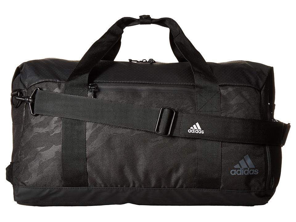 adidas - Sport ID Duffel (Tiger Style Camo Emboss/Black/Night Grey) Duffel Bags