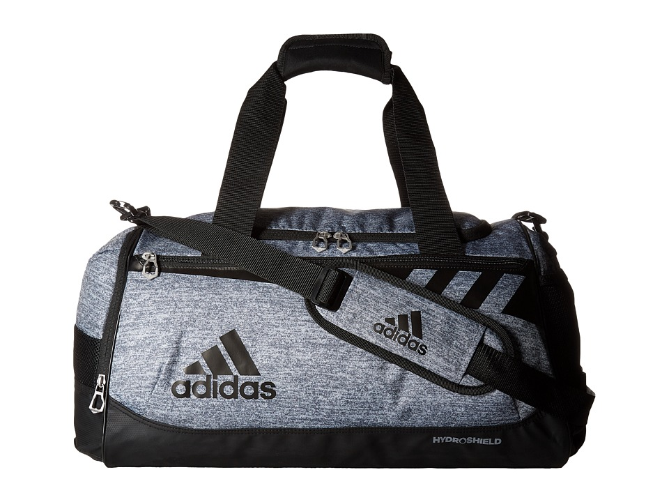 adidas - Team Issue Small Duffel (Onix Jersey/Black) Duffel Bags