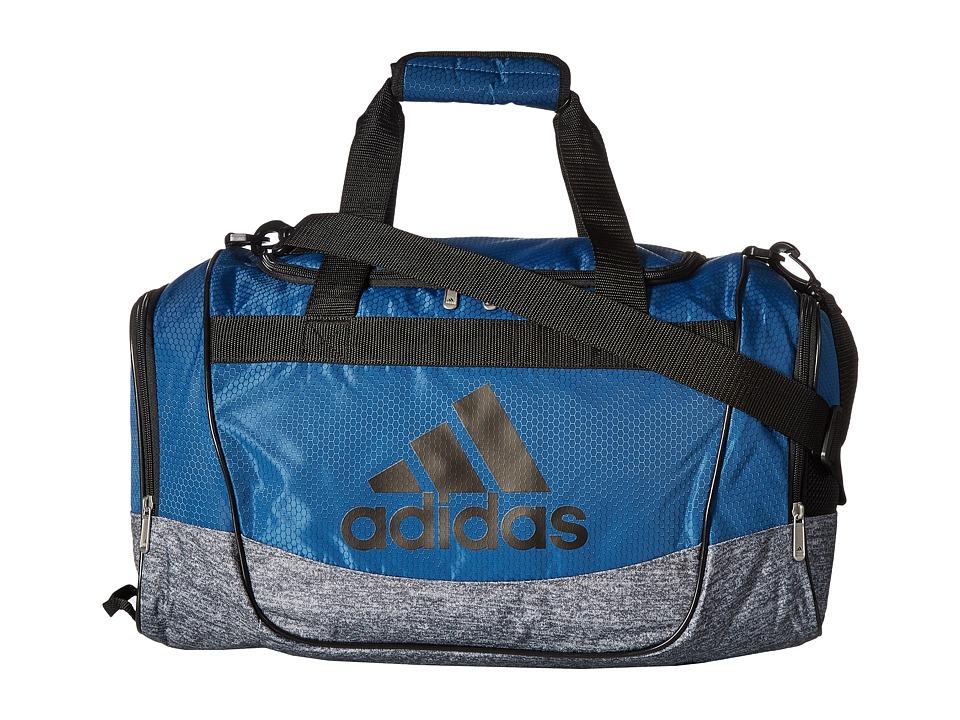 adidas - Defender II Small Duffel (Core Blue/Black/Onix Jersey) Duffel Bags