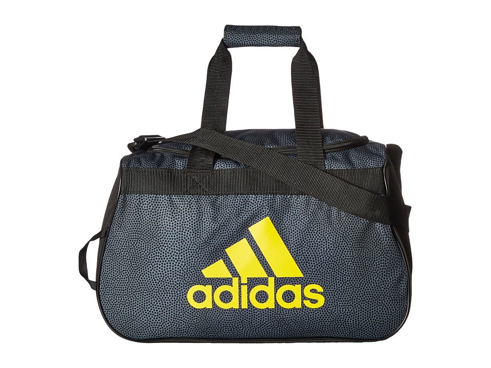adidas - Diablo Small Duffel (Onix Grip/Black/Equipment Yellow) Duffel Bags