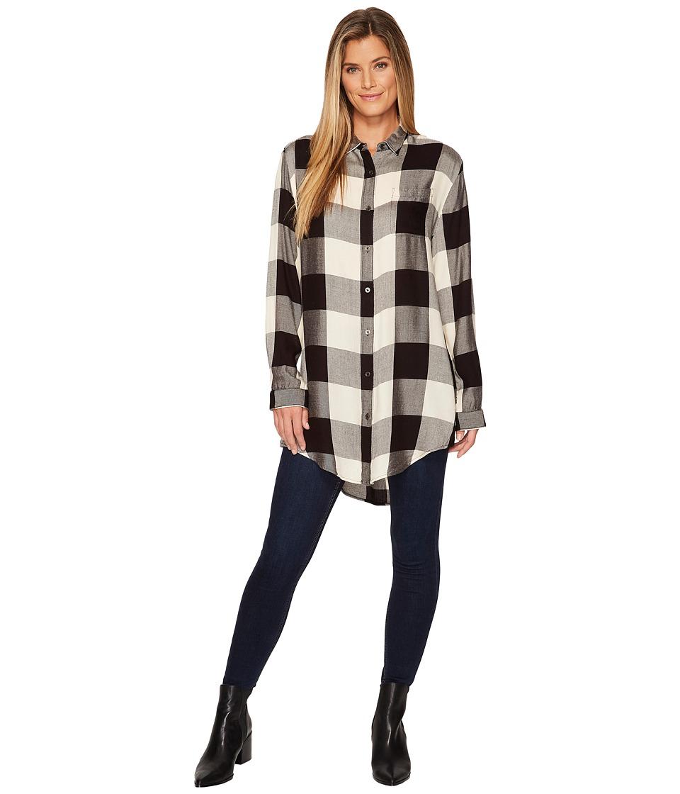 Jag Jeans Magnolia Tunic (Black/Cream) Women