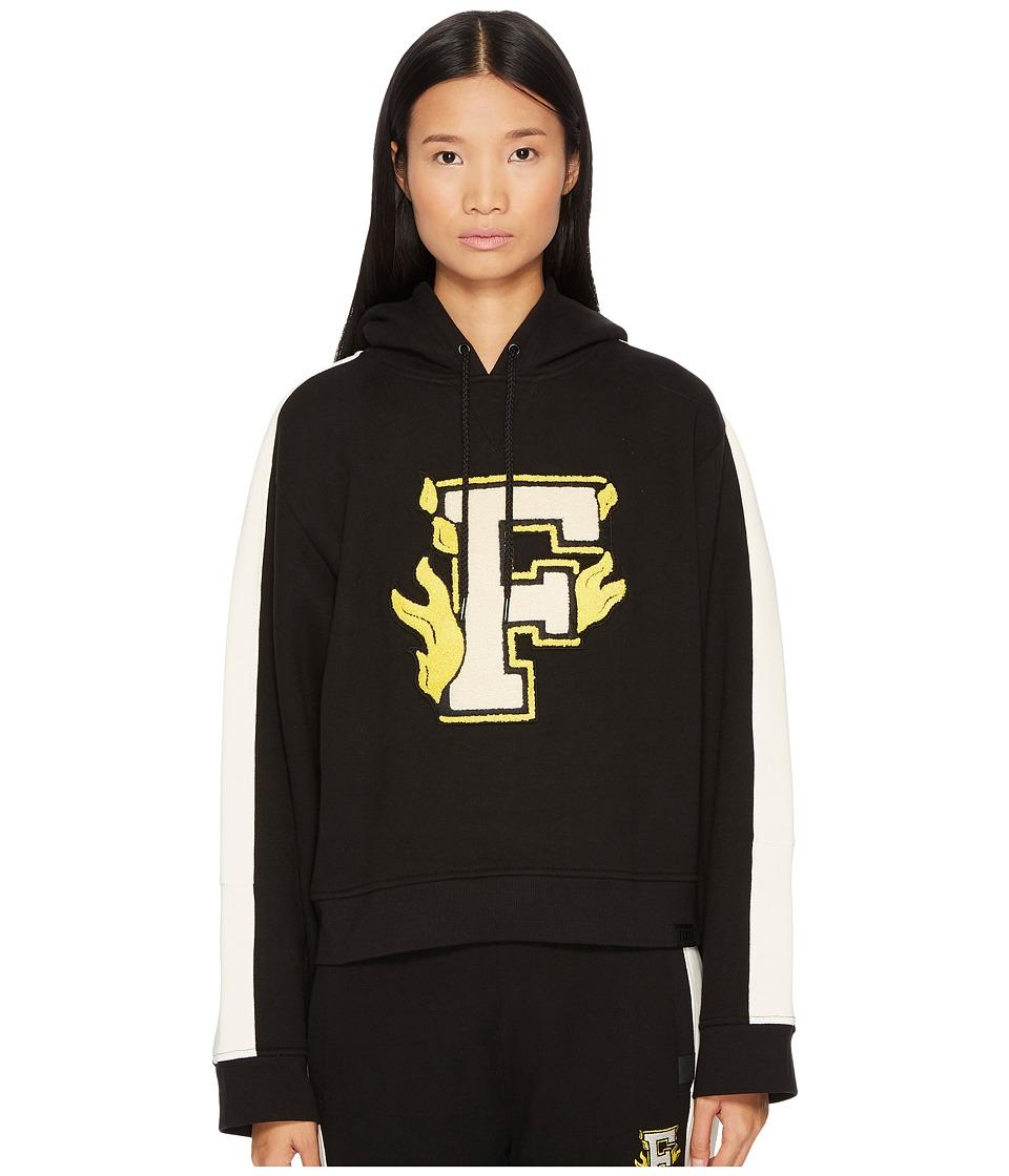 PUMA Puma x Fenty by Rihanna Hooded Panel Sweatshirt (Black) Women
