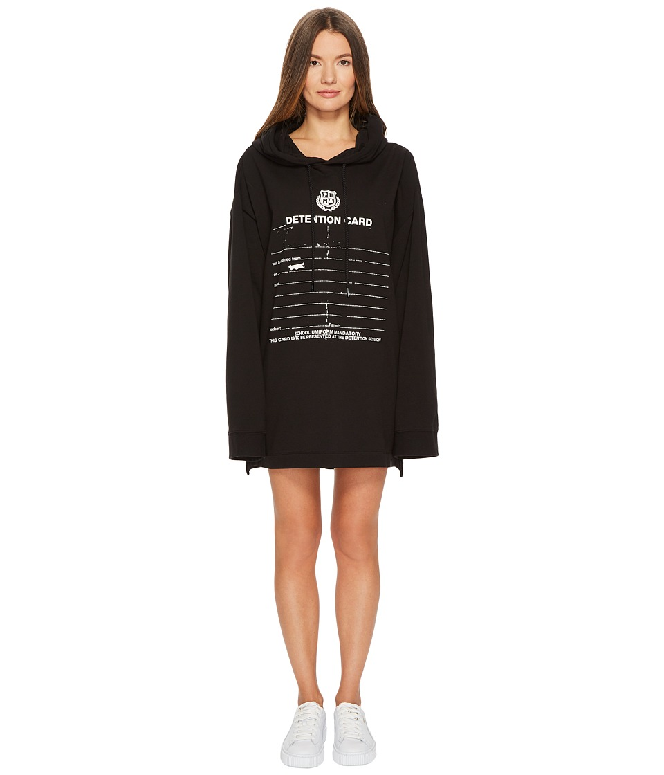 PUMA Puma x Fenty by Rihanna Long Sleeve Graphic Hoodie (Cotton Black) Women