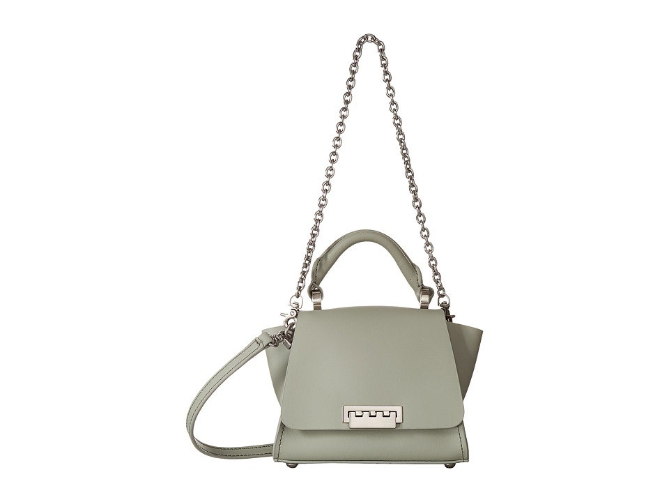 ZAC Zac Posen - Eartha Iconic Soft Top-Handle Mini Crossbody (Sea Salt) Cross Body Handbags