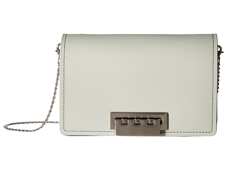 ZAC Zac Posen - Earthette Accordion Crossbody (Sea Salt) Cross Body Handbags