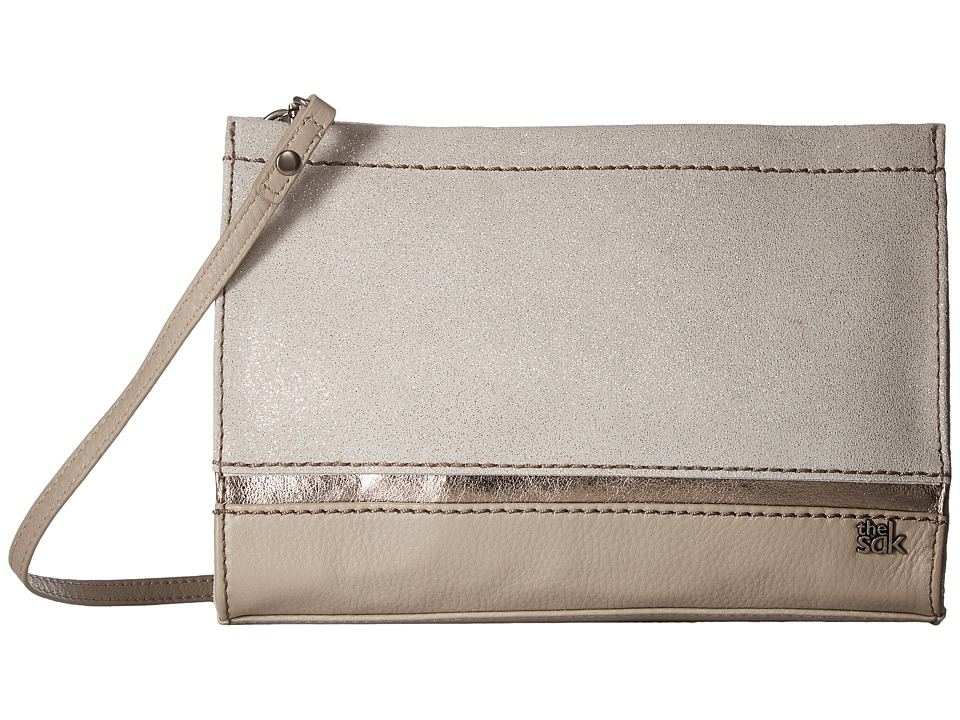 The Sak - Iris Clutch (Silver Sparkle) Clutch Handbags