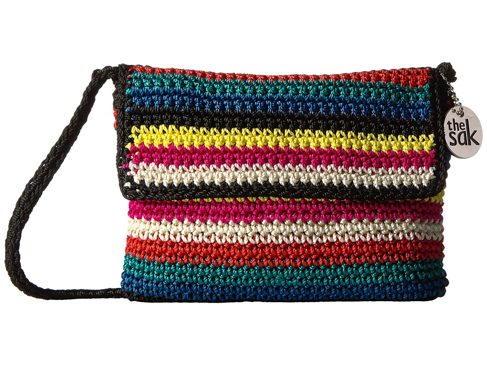 The Sak - Palm Springs Flap (Black Multi) Tote Handbags