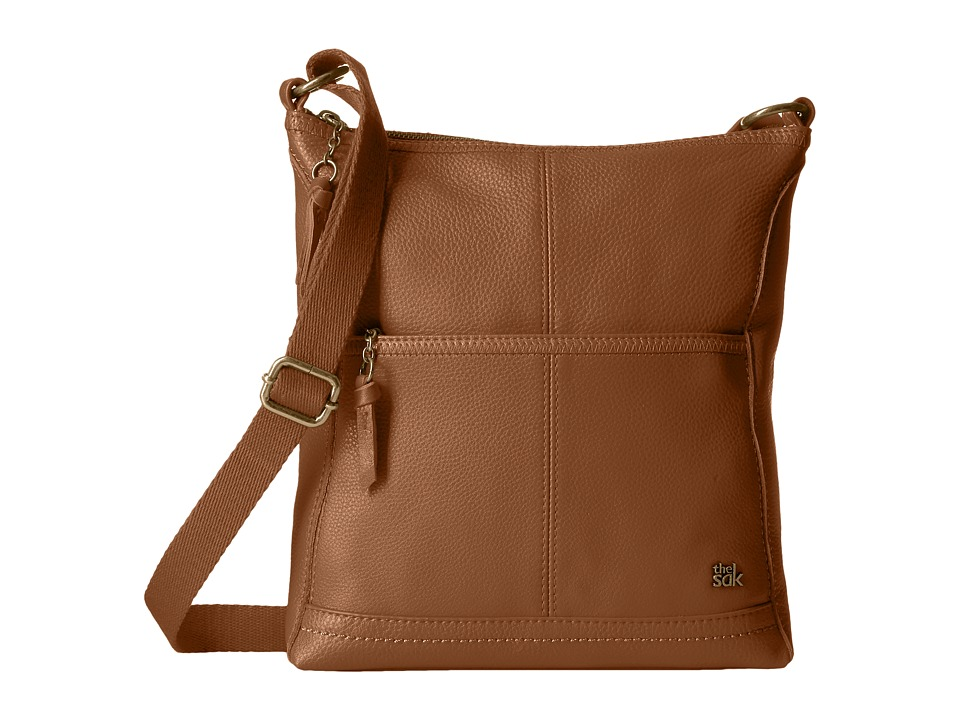 The Sak - Iris Crossbody (Tobacco Embroidered Strap) Cross Body Handbags