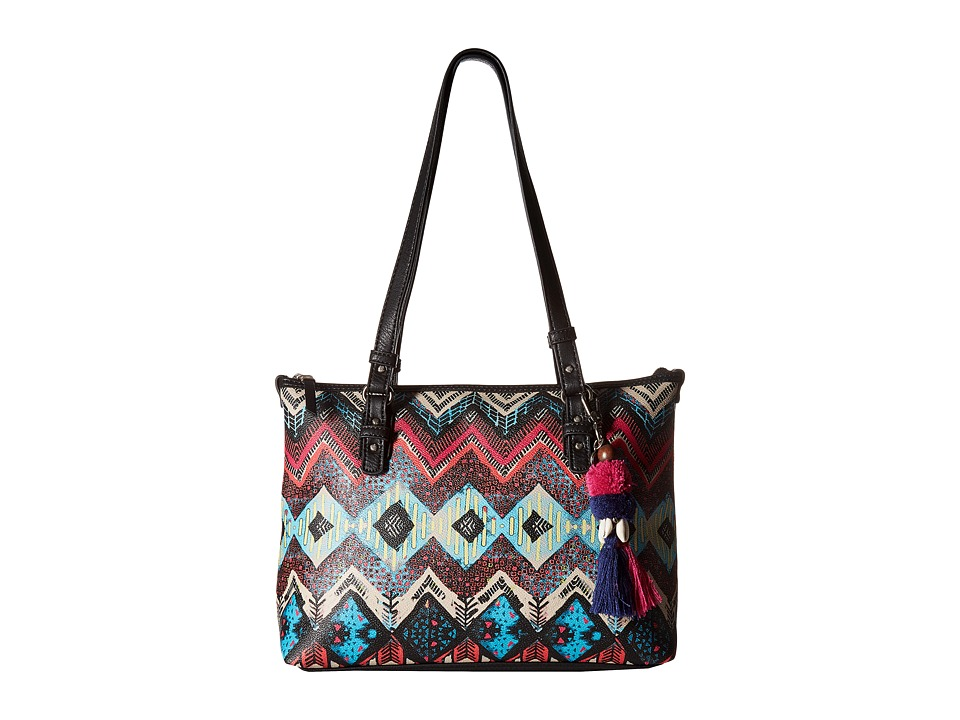 The Sak - Hasley Satchel (La Jolla Multi Print) Satchel Handbags