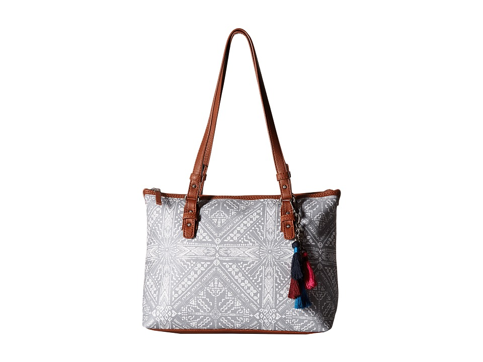The Sak - Hasley Satchel (Shadow Palisades Print) Satchel Handbags