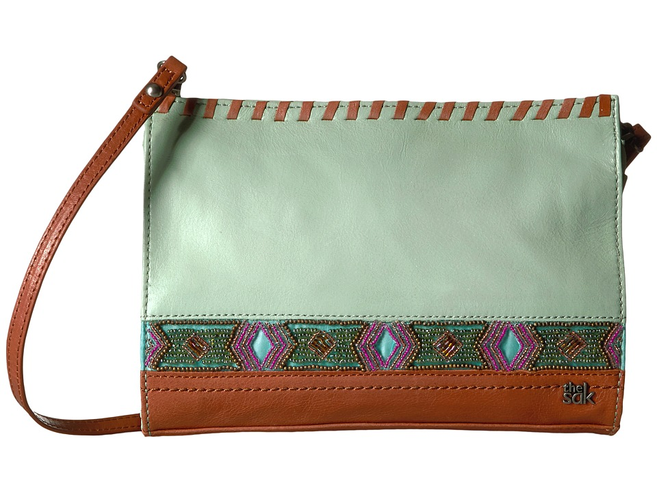The Sak - Iris Clutch (Mint Bead) Clutch Handbags