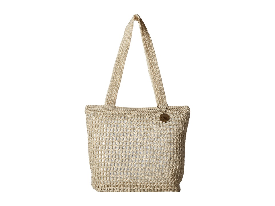 The Sak - Riviera Tote (Natural/Silver) Tote Handbags