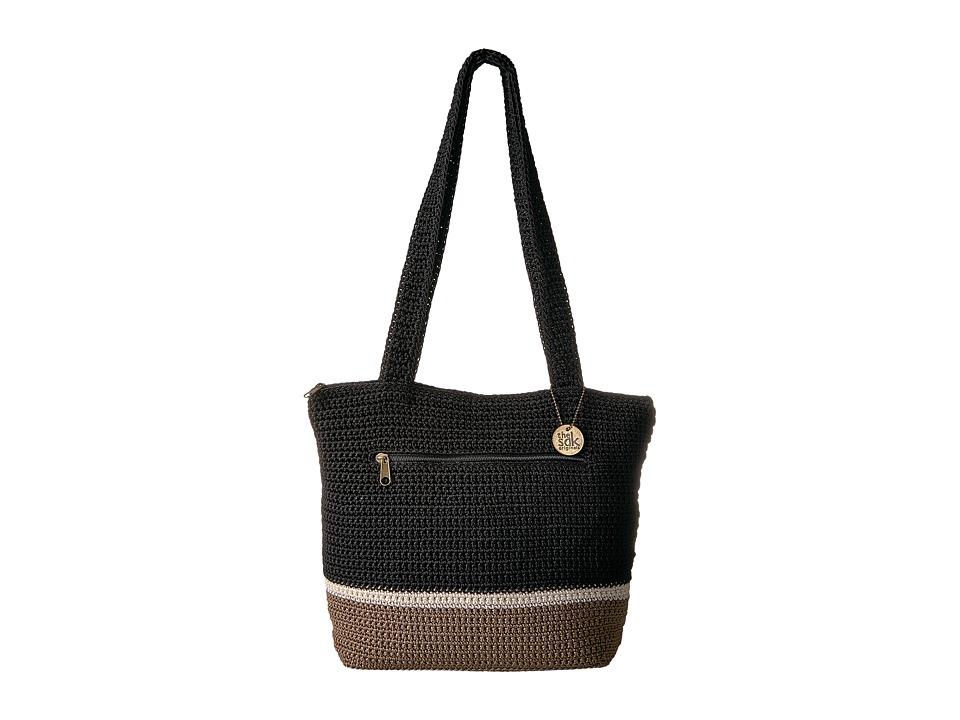 The Sak - Riviera Tote (Black Block) Tote Handbags