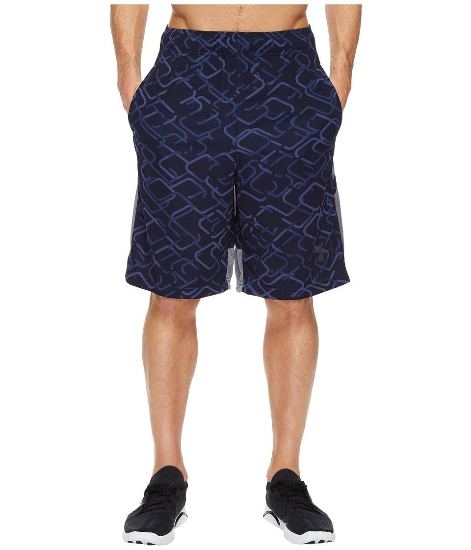 Under Armour - UA Cross Court 10 Shorts (Navy) Men's Shorts