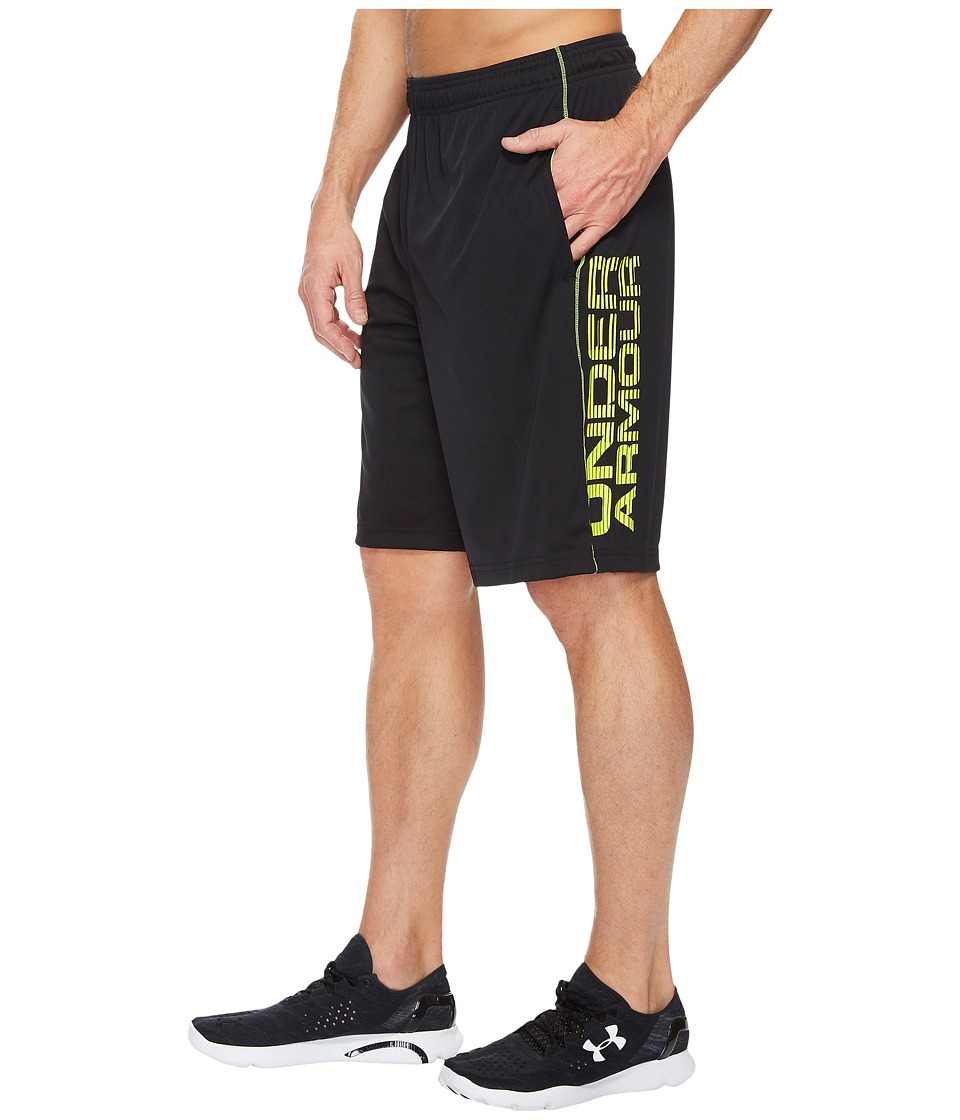 Under Armour - UA Tech Graphic Shorts (Black 2) Men's Shorts