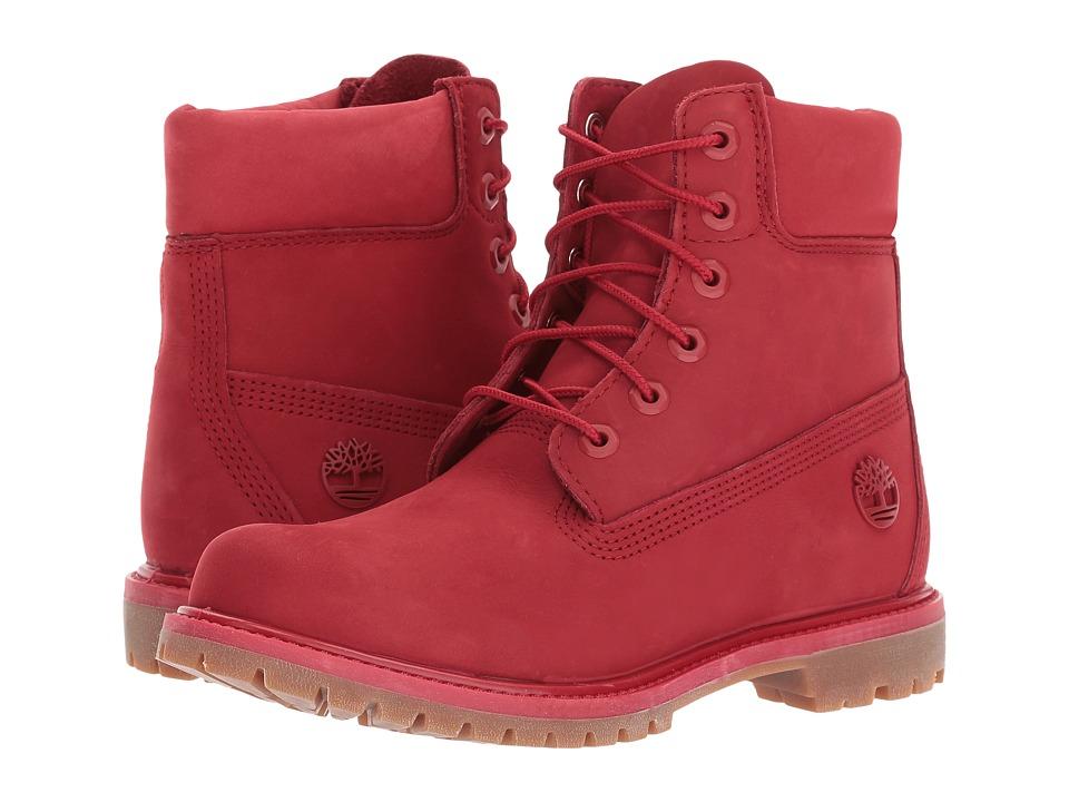 Timberland - 6 Premium Boot (Ruby) Women's Boots