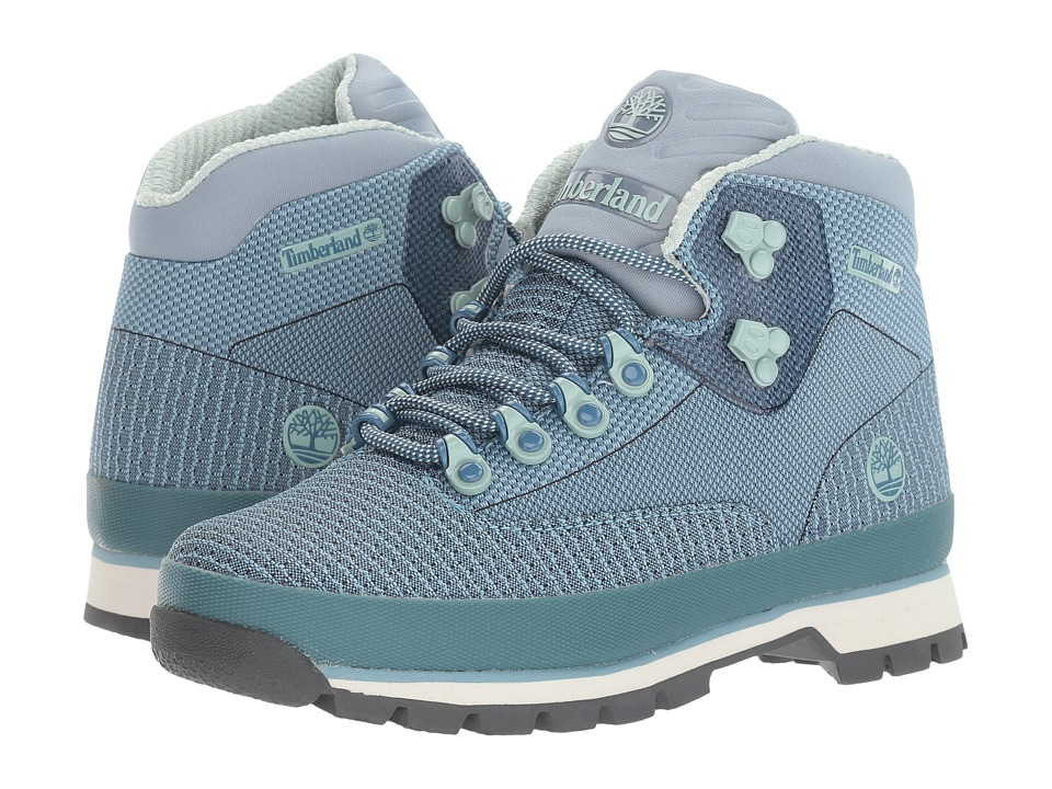 Timberland - Euro Hiker Jacquard Boot (Stone Blue) Women's Boots