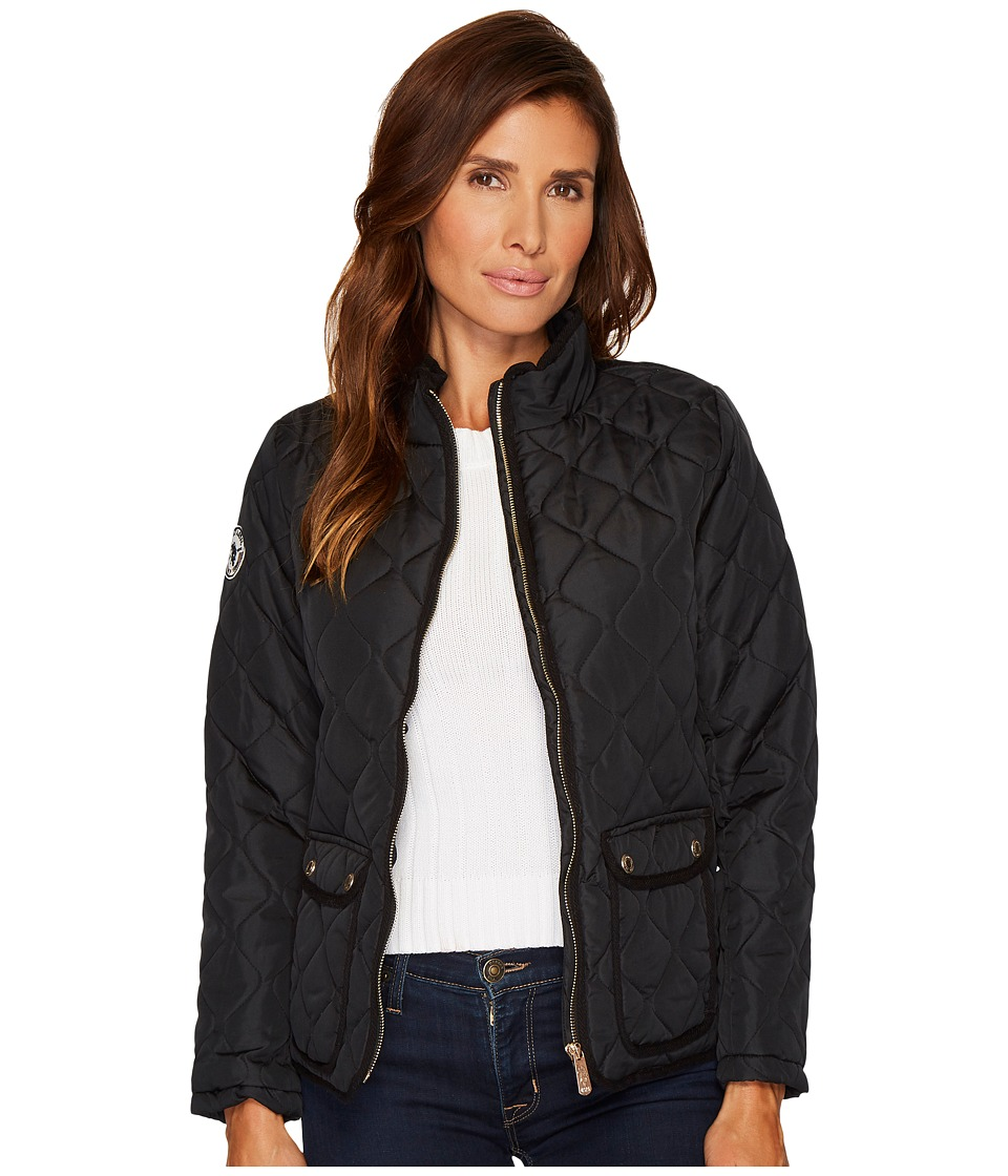 U.S. POLO ASSN. - Onion Quilted Jacket (Black) Women's Coat