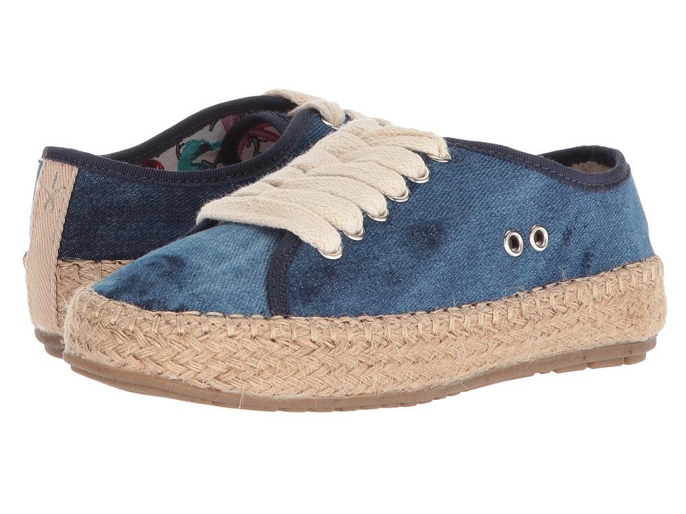 EMU Australia Kids Agonis Teens (Little Kid/Big Kid) (Dark Denim Distress) Girls Shoes